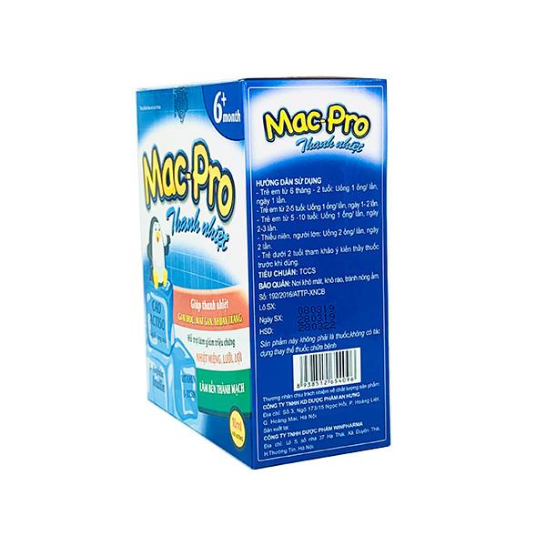 Mac-Pro Thanh nhiệt