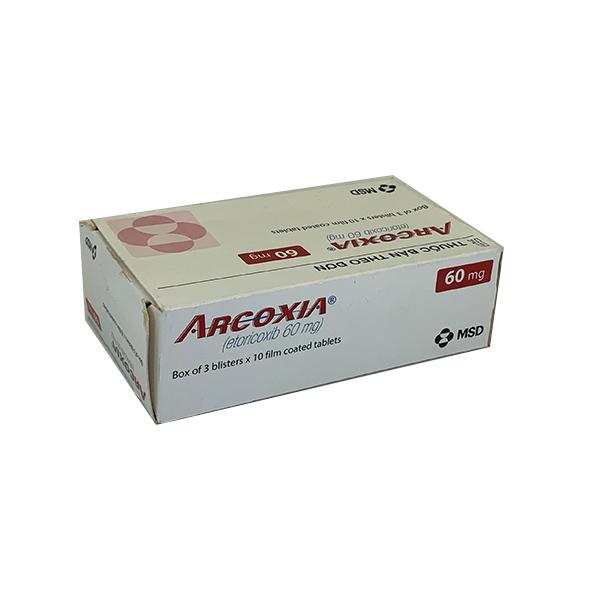 Thuốc Arcoxia 60mg