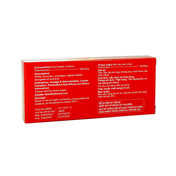 Thuốc Chimitol 500mg
