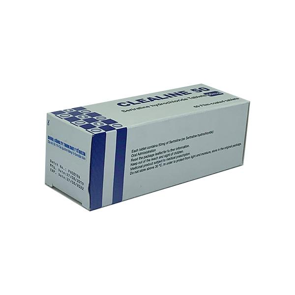 Thuốc Clealine 50mg