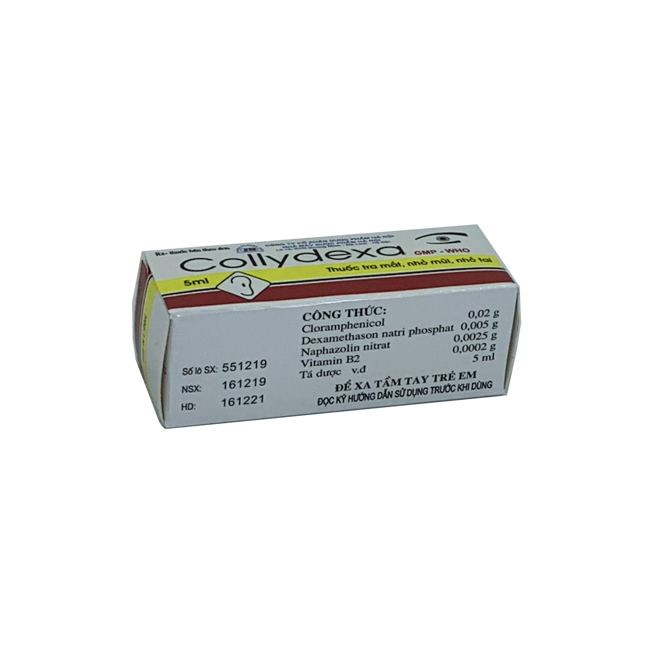 Thuốc Collydexa 5ml
