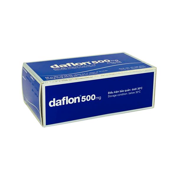 Thuốc Daflon 500mg