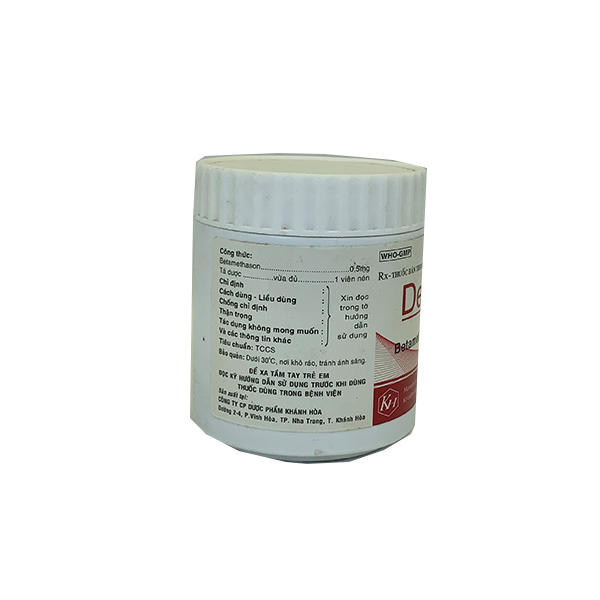 Thuốc Dexlacyl 0,5mg