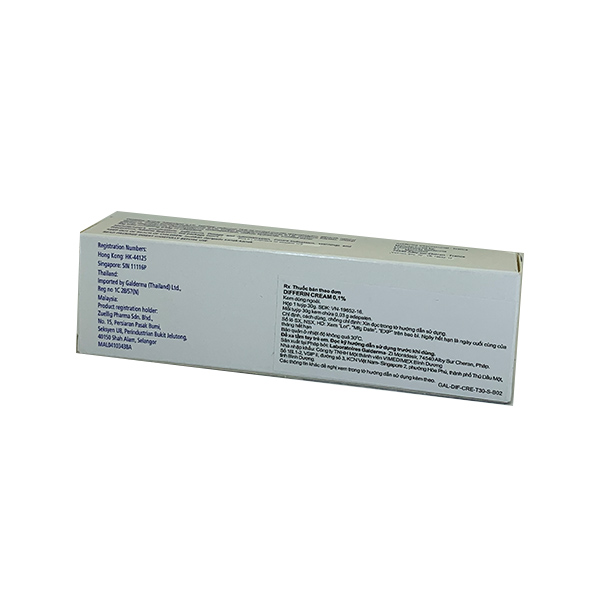 Thuốc Differin 0,1% Cream 30g