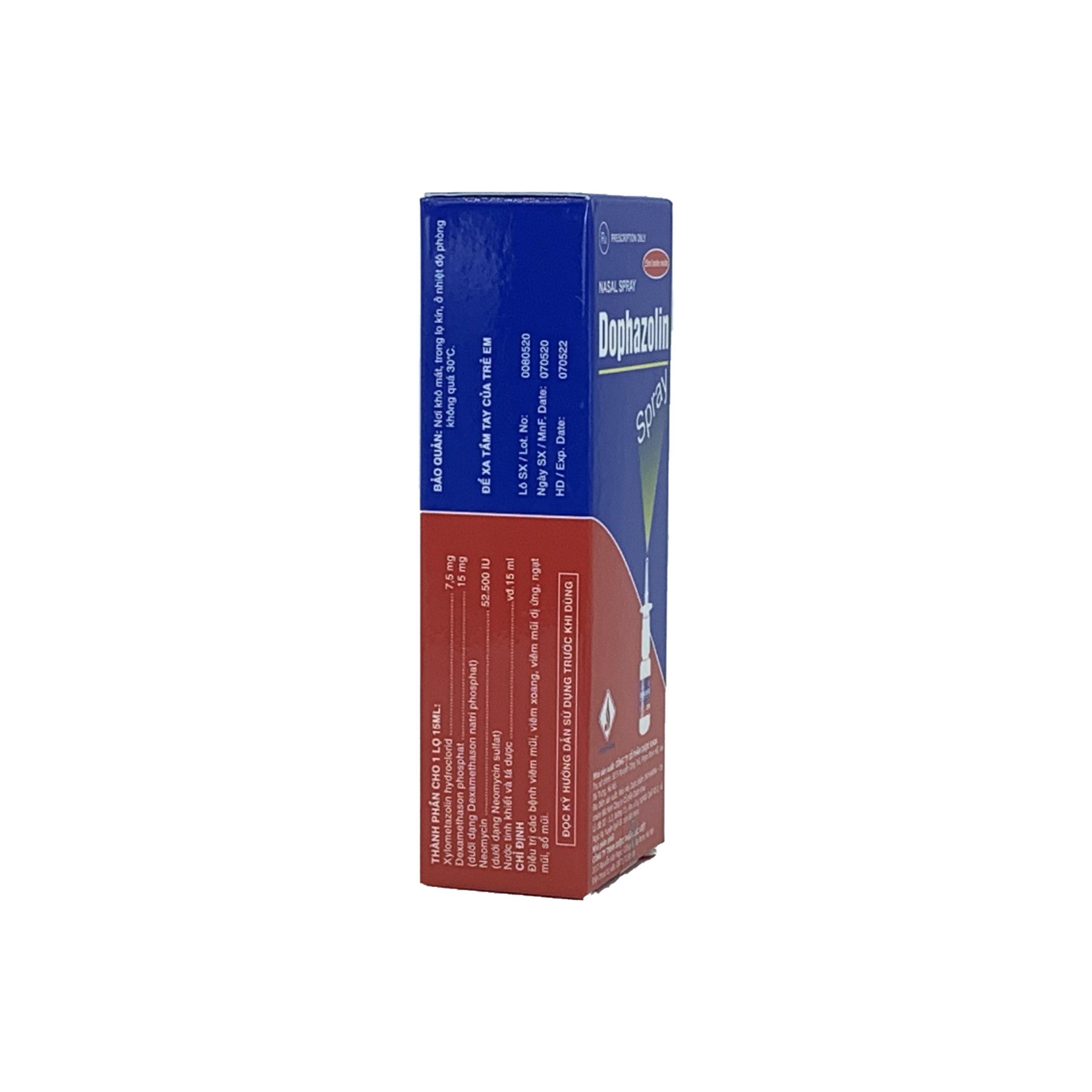 Thuốc Dophazolin Spray 15ml