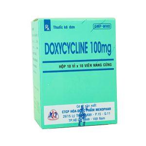 Thuốc Doxycyclin 100 mg