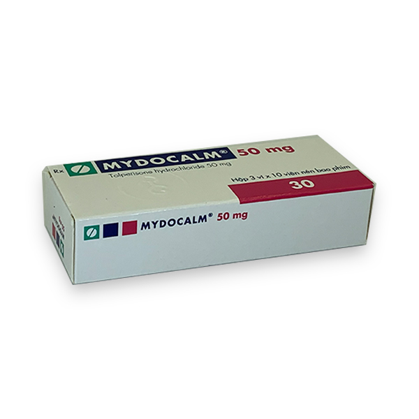 Thuốc Mydocalm 50mg