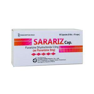 Thuốc Sarariz 5mg