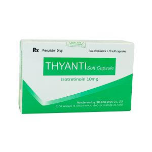 Thuốc Thyanti Isotretinoin 10mg
