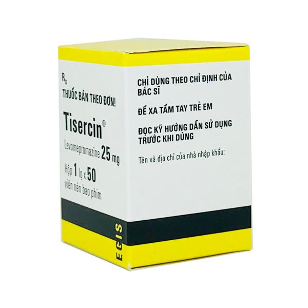Thuốc Tisercin 25mg