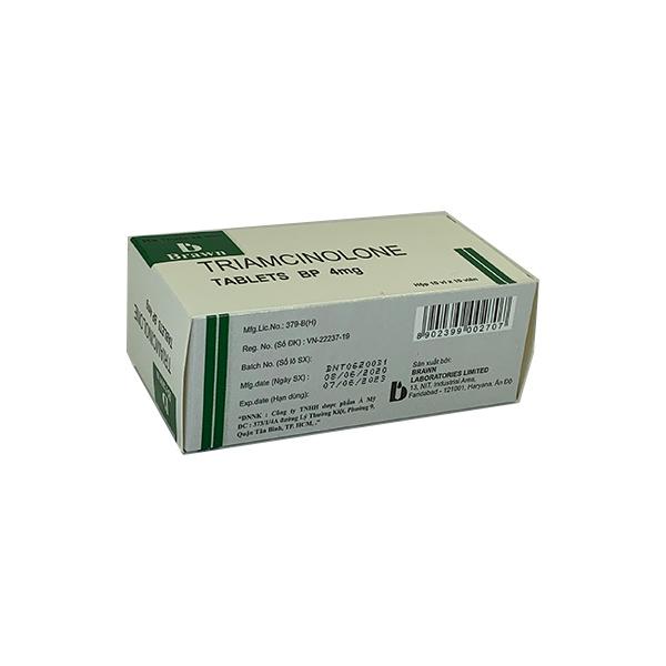 Thuốc Triamcinolon 4mg