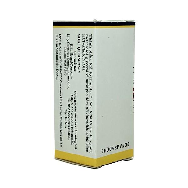 Thuốc Humulin R