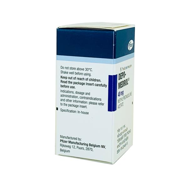 Thuốc Depo Medrol 40mg