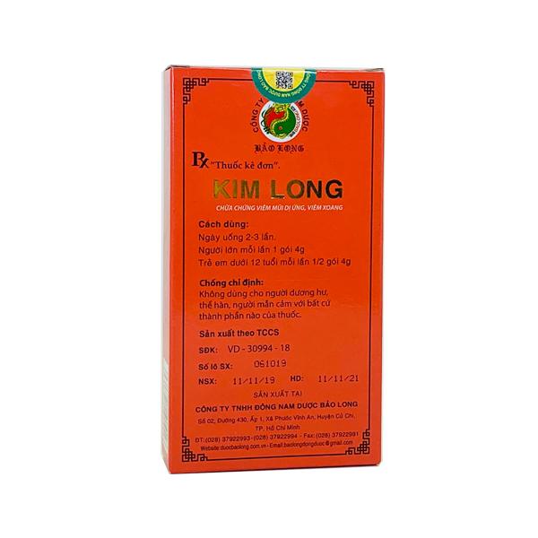 Thuốc Kim Long