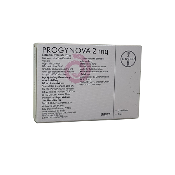 Thuốc Progynova 2mg