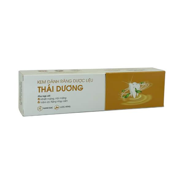 Kem đánh răng dược liệu Thái Dương 20g