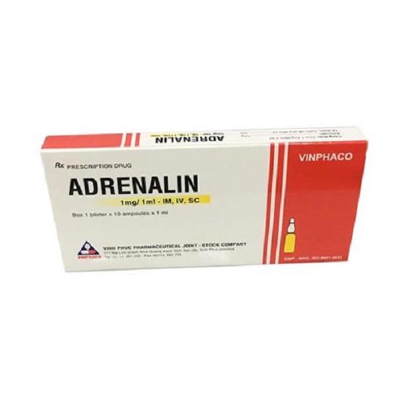 Thuốc Adrenalin 1mg/1ml Vinphaco