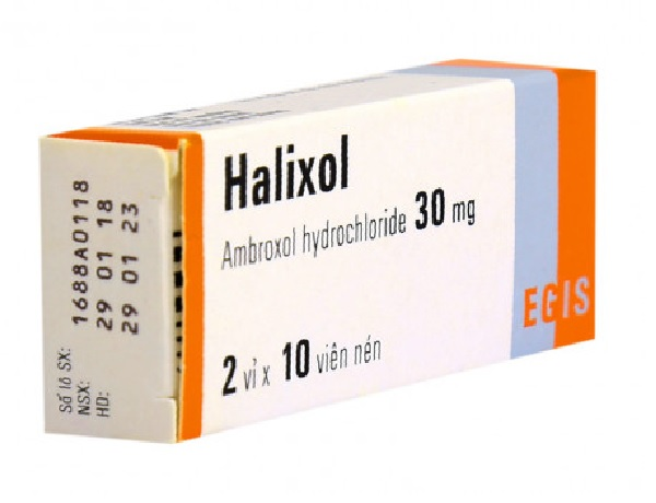 Thuốc Halixol 30mg