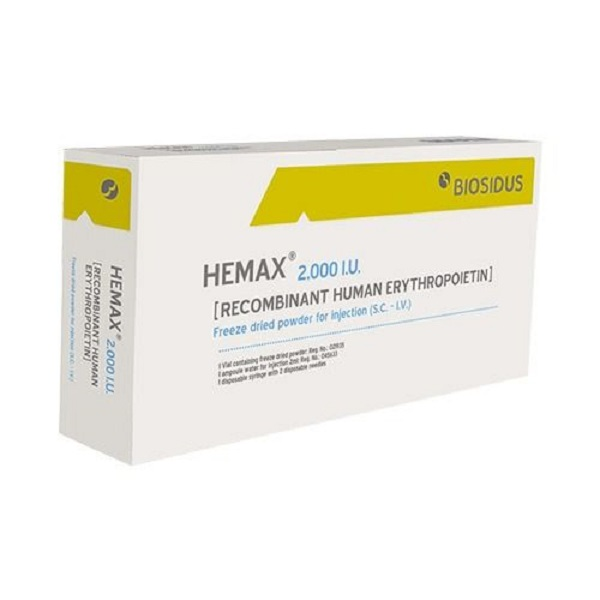 Thuốc Hemax 2000UI