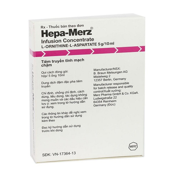 Thuốc Hepa-merz 5g/10ml