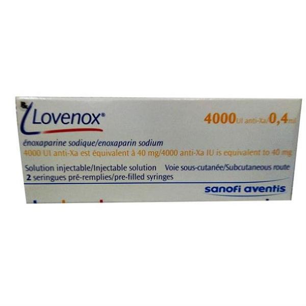 Thuốc Lovenox 4.000IU/0.4ml