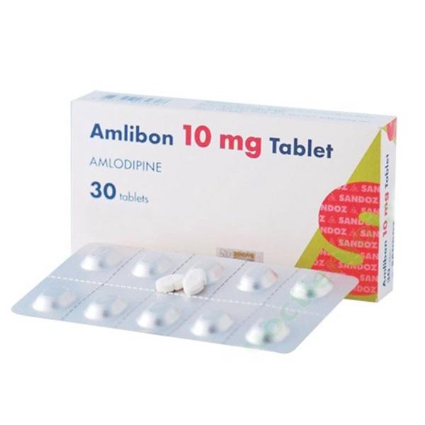 Thuốc Amlibon 10mg Tablet